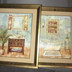 Other - 2 Decorative Pictures, I say for the Bathroom.
